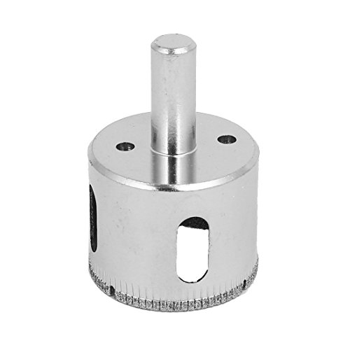 - NuoStar 1 1/2 inch Diamond Drill Bit HoleSaw DIY Kitchen, Bathroom, Shower, Faucet Installation Tiles, Glass, Fish Tanks, Marble, Granite Countertop, Ceramic, Porcelain, Coated Core Bits Hole Saw