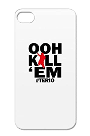 0c523d1fd730b3 TPU OOH KILL EM Red For Iphone 4s Terio Youtube Dance Miscellaneous Dancing  Ooo Kill Em Ooh Oh Music Lil Terrio Cover Case  Amazon.co.uk  Electronics