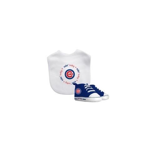Onesie Chicago Cubs (Baby Fanatic MLB Chicago Cubs Unisex CUB30002Bib & Prewalker Gift Set - Chicago Cubs, See Description, See Description)