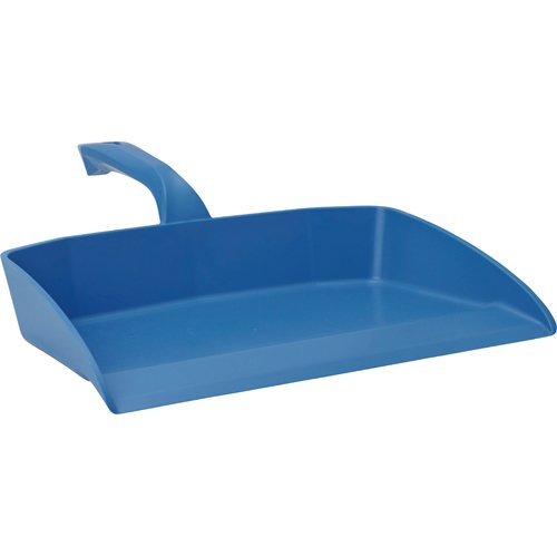 Hand Held Dust Pan, Blue, Polypropylene