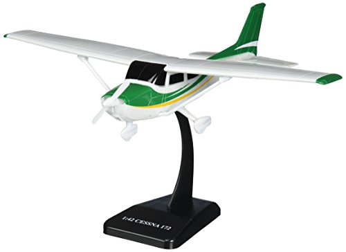 Daron Sky Kids Cessna C172 Skyhawk with Wheels Vehicle (1/42 Scale) (For Airplane Teaching Model)