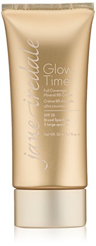 jane iredale Glow Time Full Coverage Mineral BB Cream, BB3, 1.7 Fl. (Jane Iredale Flocked Sponge)