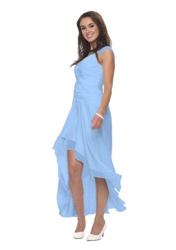 Hellblau co6021ap Azul Cóctel Mujer Vestido Astrapahl YAqwUw