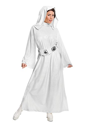 Rubie's Deluxe Adult Princess Leia Costume 2X-Large White