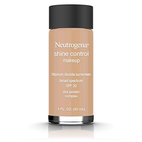 Neutrogena Shine Control Liquid Makeup Broad Spectrum Spf 20, Fresh Beige 70, 1 Oz.