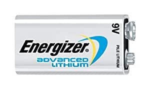 Energizer Advanced Lithium 9 Volt 12 Battery Bundle