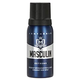 #MG LENTHERIC Masculin Deodorant Spray Extreme 150ml -Lentheric Masculin Extreme is a deodorant body spray specifically formulated to protect from perspiration and odour