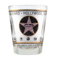Walk of Fame Star Shot Glass - Glasses Hollywood