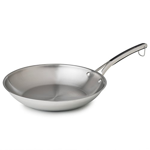 "Revere 12"" Fry Pan, One Size, Stainless Steel"