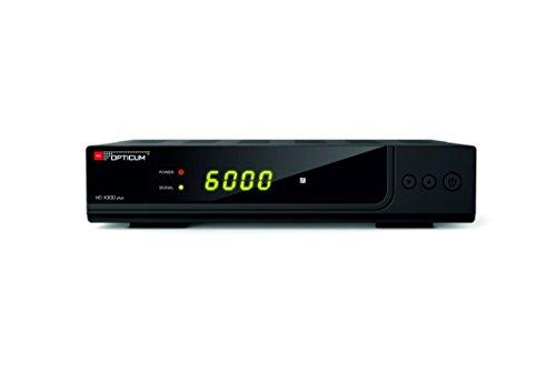 Opticum HD AX 300 plus HDTV-Satellitenreceiver (Full HD 1080p, HDMI, USB, S/PDIF Coaxial, Scart) -    Schwarz