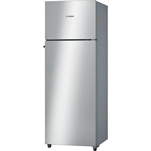 Bosch 290 L 2 Star Frost-Free Double Door Refrigerator (KDN30VS20I, Silver)