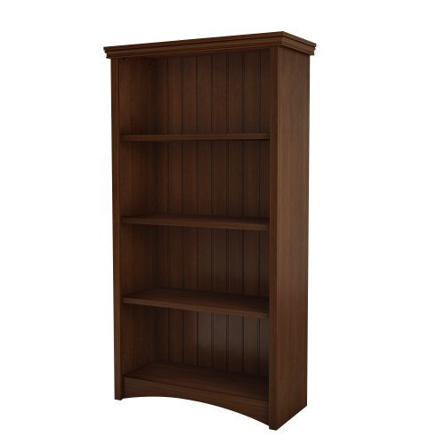 south-shore-furniture-gascony-collection-bookcase-sumptuous-cherry
