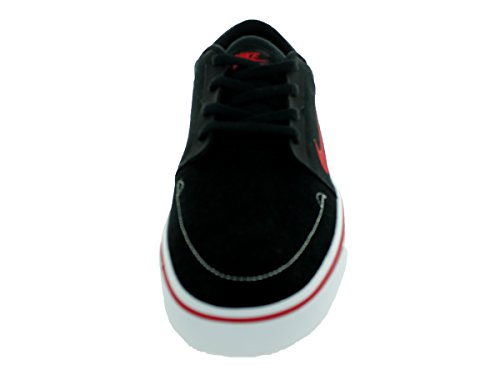 Nike Mens Sb Portmore Enkelhoge Skateboarden Schoen Zwart / Wit / Sportzaal Rood
