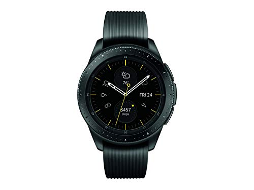 Samsung Galaxy Watch (42mm) Smartwatch (Bluetooth) Android/iOS Compatible -SM-R810 – Intenational Version -No Warranty …