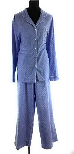 Charter Club Women's Lady Polka Dot Embroidery 2-Piece Pajama (XXX-Large, Lady ()