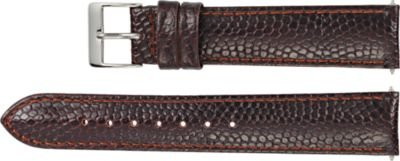 18mm Regular Brown Leather Lizard Grain Padded (Padded Lizard)