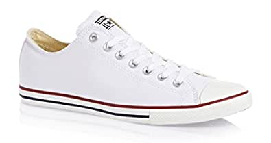 Converse All Star Lean Ox Shoes - White - UK 5 / US Mens 5 / US Women 7 / EU 37.5