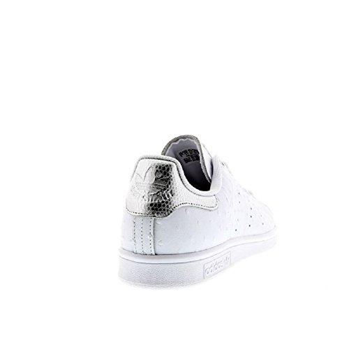 adidas Stan Smith, Sandalias con Plataforma Unisex, Blanco, 4.5 EU blanco