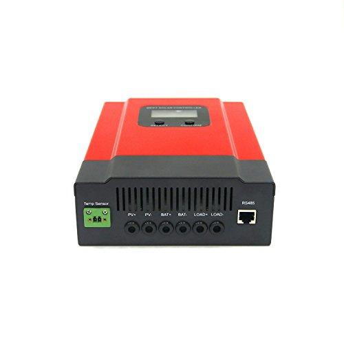 KRXNY 40A MPPT Solar Charge Controller DC 12V/24V/36V/48V Auto Battery Regulator PV 150V Input RS485 Communication by KRXNY (Image #1)