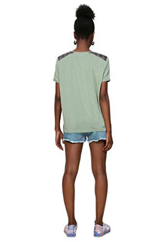 T Shirt Kaki 19swtk36 Desigual Willem O4FwaFq1