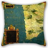 Artistdecor Pillow Shams Of Oil Painting Stefano Bonsignori - Namibia, Botswana And South Africa,for Relatives,sofa,boys,sofa,coffee House,monther 16 X 16 Inches / 40 By 40 Cm(each - Sham Sateen Boudoir