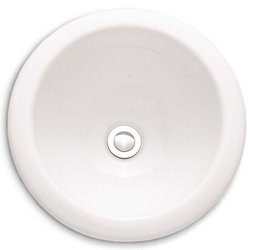 American Standard 0571.000.020 Royton Countertop Sink without Faucet Deck, White