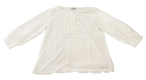 ann-taylor-loft-womens-petite-sheer-ruffle-front-blouse-ivory-xx-small-petite