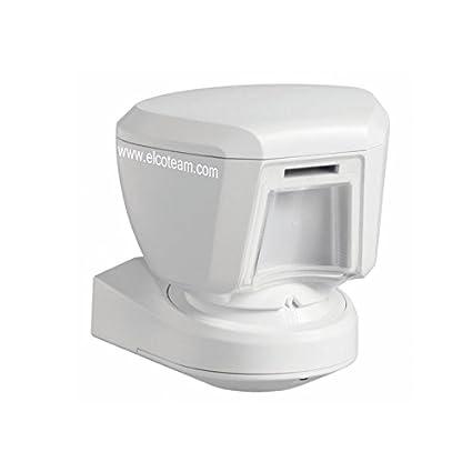 DSC pg8994 Sensor de movimiento infrarrojo PIR para exterior con tecnología inalámbrico powerg