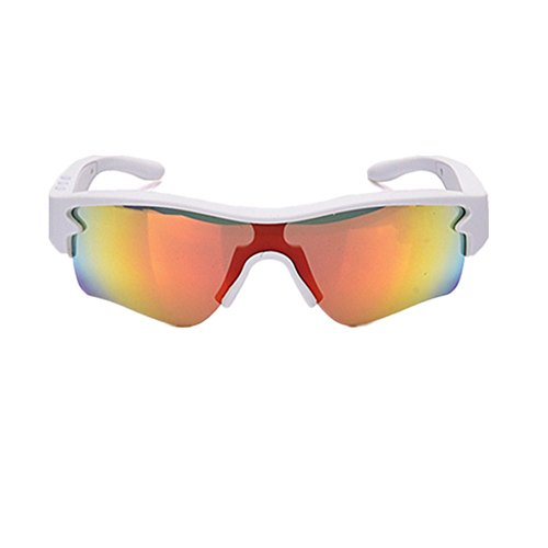 Glasses Cycling Glasses Bicycle Color-Changing Glasses Adult Outdoor Glasses Suitable for Outdoor Cycling Lovers, Fashion Accessories (Color : White)