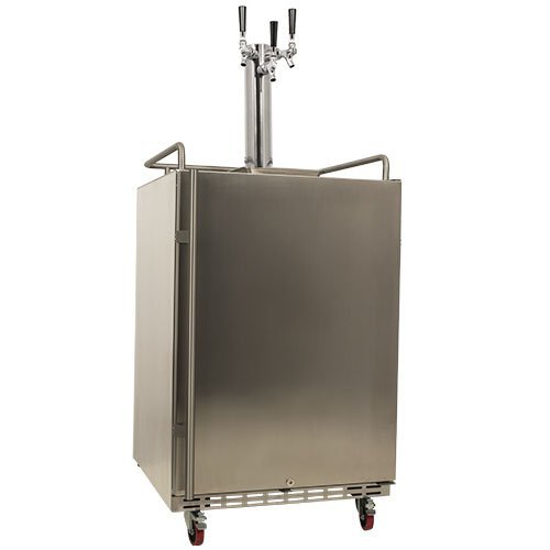 EdgeStar Triple Built Outdoor Kegerator