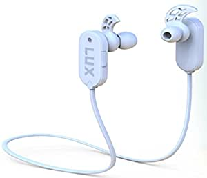 MTR LUX Bluetooth Headphones, Best Noise Cancelling Sweatproof Wireless Earbuds with Mic, Innovative Secure Design & Comfortable Fit for Exercise and Running, perfect for iPhone, Samsung, Android & TV