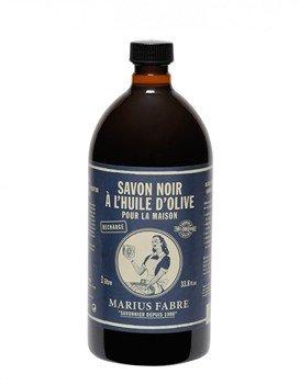 Marius Fabre Nature Multi-purpose Olive Oil Liquid Black Soap 1l 33.8oz Refill