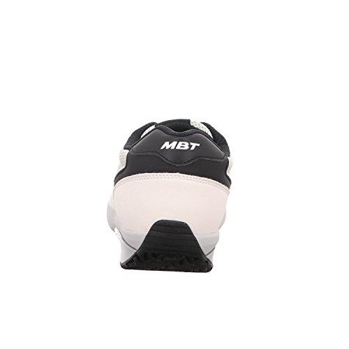 mit MBT 1997 Damen Abrollsohle Weiß Black Ivory Sneaker W n7pqvY76P