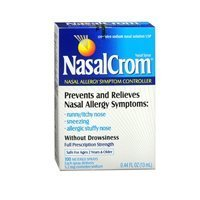 Nasalcrom Nasalcrom Nasal Allergy Symptom Controller Spray, 0.44 oz (Pack of 2) by Nasal (Allergy Symptom Controller Nasal Spray)