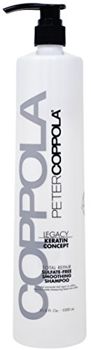 Peter Coppola: Legacy Total Repair Sulfate-Free Cleansing & Smoothing Shampoo, 33.8 oz.