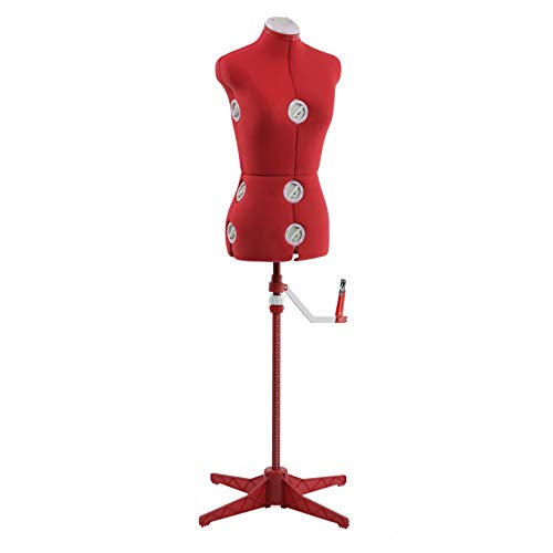SINGER Dress Form Red