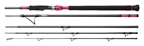 Goture Travel Fishing Rods 2//3//4-Pcs Casting//Spinning Rod with Case 6ft-10ft