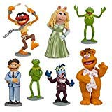 (Muppets Kermit Ms Piggy Playset 7 Figure Cake Topper Toy Doll)