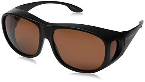 Solar Shield Fits Over Sunglasses Classic Elm Square (L) ()