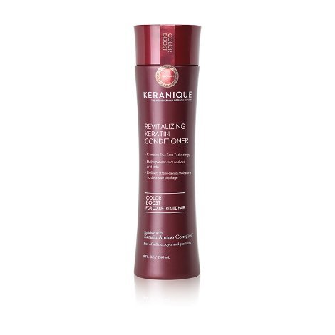 Keranique Color Boost Scalp Revitalizing Keratin Conditioner for Color Treated Hair | Keratin Hair Treatment | Keratin Amino Complex, Free of Sulfates, Dyes and Parabens ()