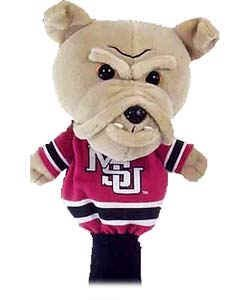 - College Licensed Golf Mascot Headcover - Mississippi St.