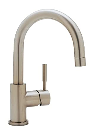 Blanco BL440954 BlancoMeridian Kitchen Faucet, Satin Nickel