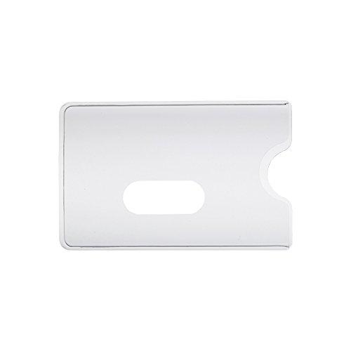 10 x Scheckkartenhülle - Kreditkartenhülle - Bankkartenhülle - EC-Kartenhülle - Krankenkassenkartenhülle - Mitgliedskartenhülle - Telefonkartenhülle - Kundenkartenhülle - Führerscheinhülle - Ausweishülle - Visitenkartenhülle - Kartenhülle - EC-Hülle ...
