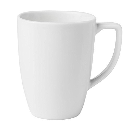 Corelle 6022022 Stoneware Winter Frost White Mug, 11 Oz, White (Pack of 6) ()