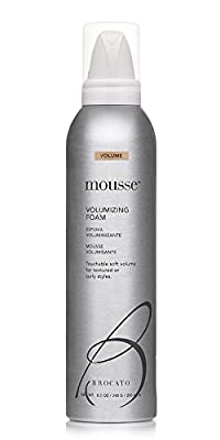 Brocato Mousse Volumizing Foam by Beautopia Hair: Natural Volume Soft Styling Foam for Curly and Textured Hair - 8.5 oz