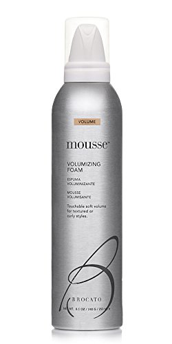 Defining Volume Mousse - Brocato Mousse Volumizing Foam by Beautopia Hair: Natural Volume Soft Styling Foam for Curly and Textured Hair - 8.5 oz