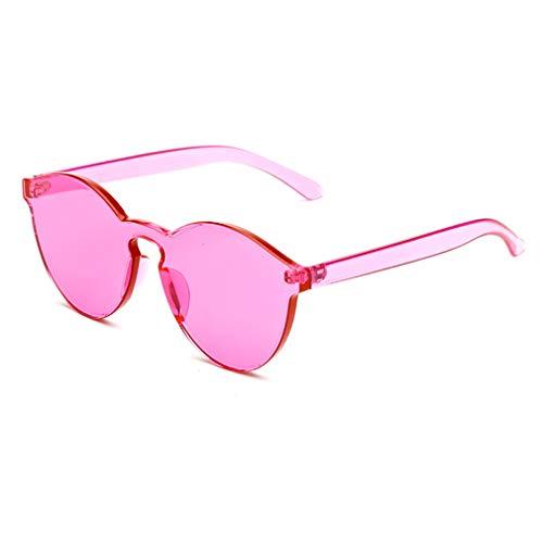 Couleur Rose Intégrées Or Femmes Sans Soleil Monture Lunettes Jixuan De Candy Uv400 Hommes Transparentes Claires OqOP6zwx