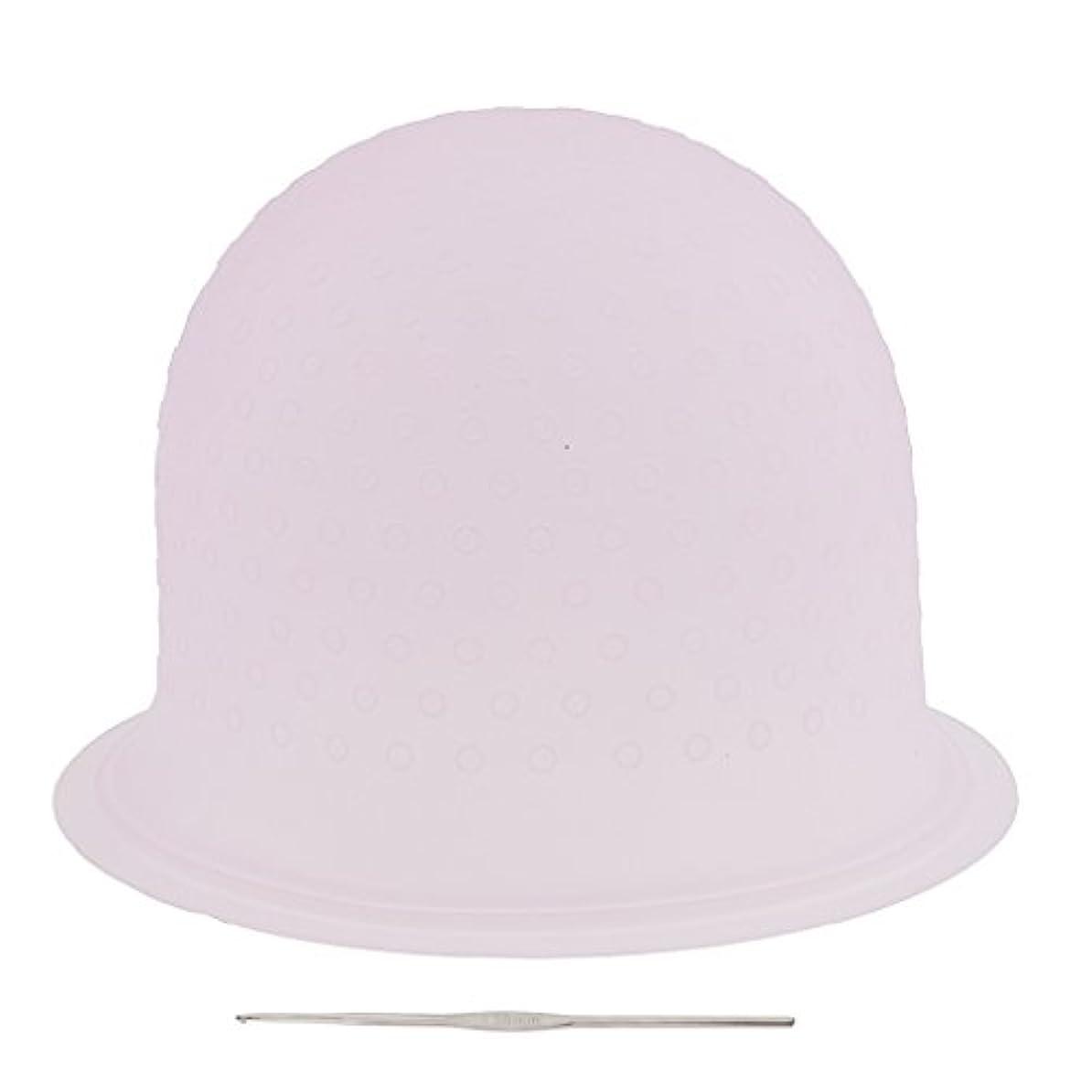 変わる耐えられない胃SONONIA 再利用可能 省エネ サロン ハイライト 髪染め工具 染めツール メタルフック付き 2色選べ - ピンク, 23.3×8.5cm