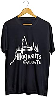 Camiseta Camisa Hogwarts masculino preto