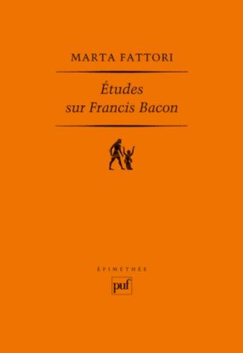 études sur Francis Bacon